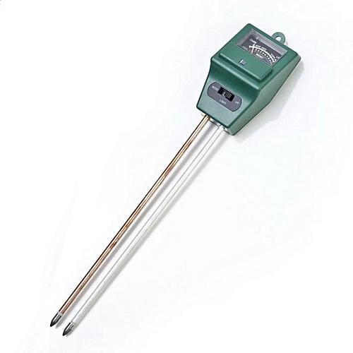 Generic 3 In 1 ph Tester Soil Water Moisture Light Test Meter For Garden Plant Flower Green