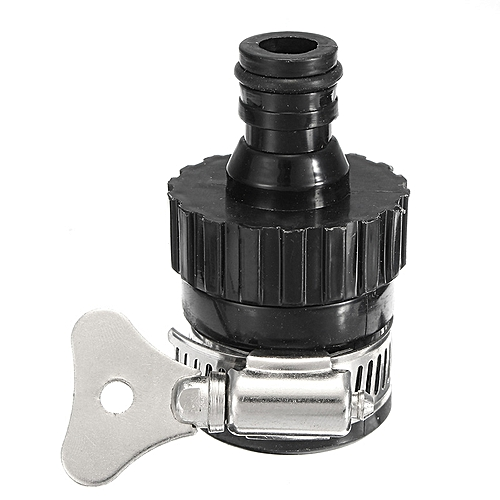 14-20mm Water Faucet Tap Adapter Plastic Nozzle Adjustable Pipe Connector Hose Fitting