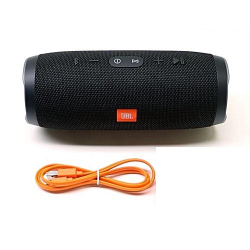 Universal Charge 3 Waterproof Portable Bluetooth Speaker - Black