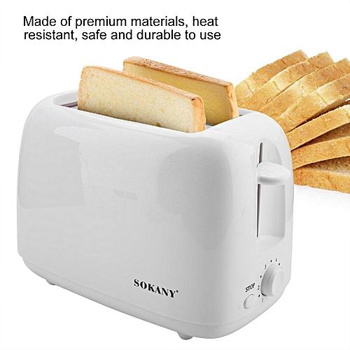 Household 2-Slice Bread Toaster Baking Machine Kitchen Toaster For Breakfast 220V EU Plug