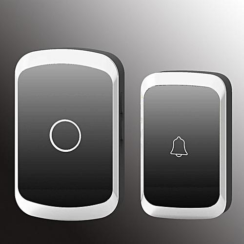 A20 Household Wireless Waterproof Doorbell 300M Remote Home Cordless Door Bell Black
