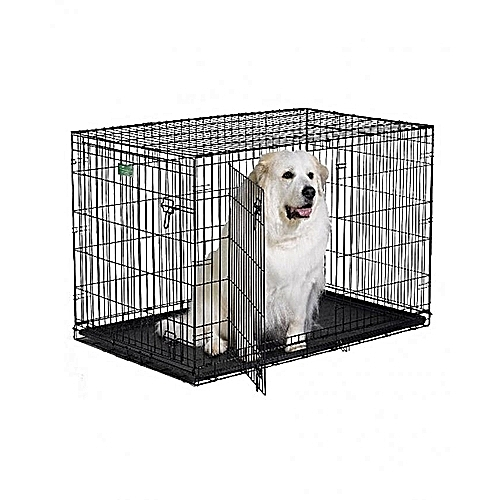 Wire Collapsible Dog Cage Large