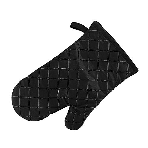 KCASA KC-PG02 1Pcs Silicone Coating Oven Mitts Microwave Oven BBQ Heat Resistant Pot Holder Gloves