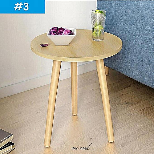 Look At Side Table Coffee Table Round Display Rack End Lamp