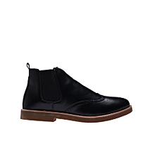 Men's Oxford Ankle Shoe Black