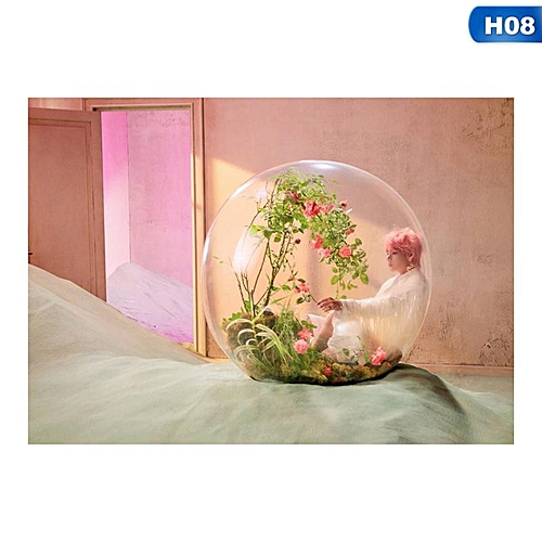"Eleganya Kpop BTS ""LOVE YOURSELF Knot Answer"" Decorative Poster"