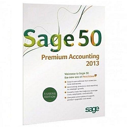 50 Premium Accounting 2013 - 5 User