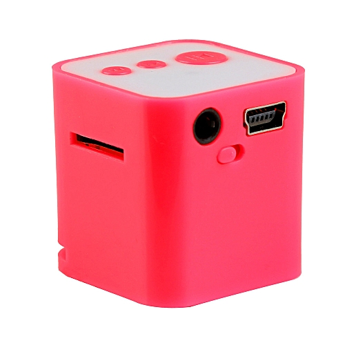 Useful* Portable USB MP3 Mini Music Player Support Micro SD TF Card Music Pink