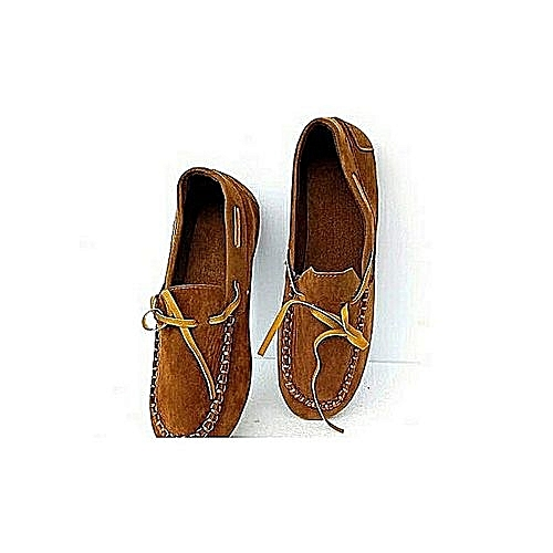 Women Casual / Formal Loafers Shoe-brown