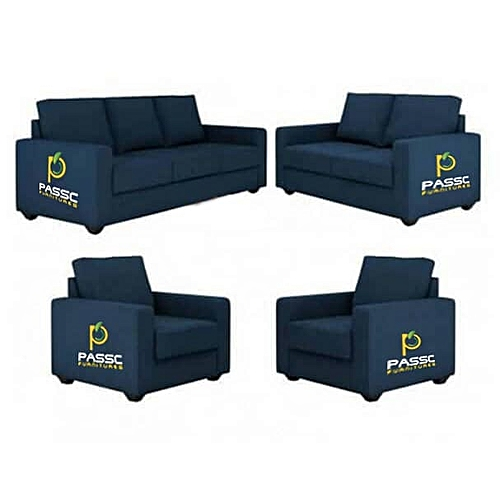 Navy Blue 7 Seater Sofa . Order To Get Free Outta Man. ( Delivery Only To Lagos Residence)