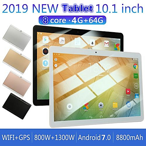 Generic 64GB+4G Android 7.0 Tablet PC Octa 8 Core 2 SIM-PINK