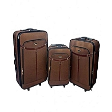 4ce8e2066d Swiss Polo Trolley Travel Luggage Bag 3 Piece Set
