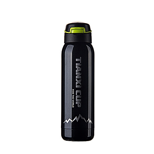 Travel Insulation Cup Stainless Steel Vacuum Tea Cup Water Bottle 500ml
