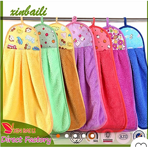 Multi-colored Kitchen Hanging Towel (6pcs)