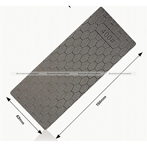1PC Professional Thin Diamond Knife Sharpening Stone Whetstone Grit 400