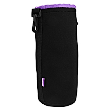 CADEN H111 Protective Soft Neoprene Camera Lens Pouch Bag For DSLR SIZE XL  BLACK AND PURPLE b019d55e8384b