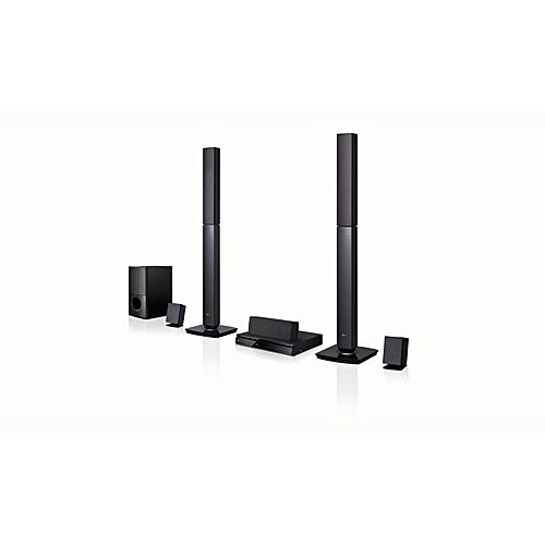 LG 1000 WATTS TALL BOYS HOME THEATHER LHD647B (black)