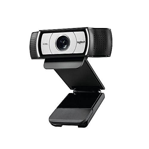 Logitech C930e 1080P HD Video Webcam - 90-Degree Extended View, Microsoft Lync 2013 And Skype Certified-intl