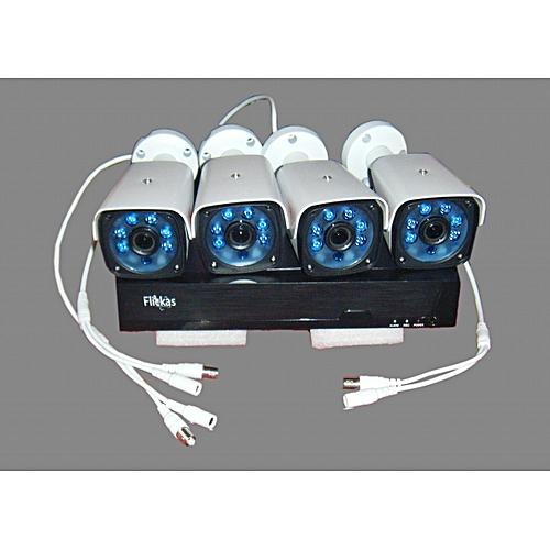 CCTV CAMERA KIT 4 Channels -WITH ONLINE VIEW PLATFORM