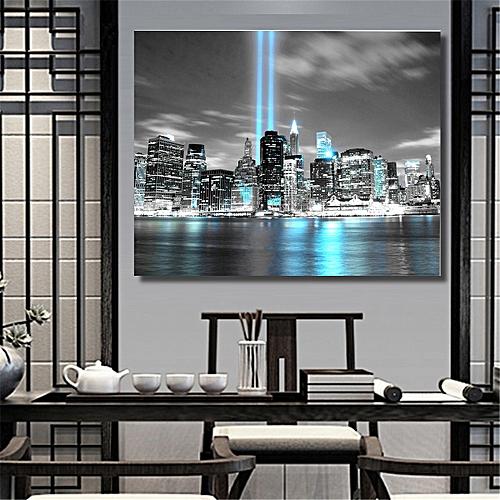 60X40cm NEW YORK CITY Manhattan Skyline Canvas Print Painting Wall Art Prints Unframed-Multi