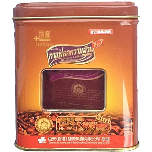 Slimming Coffee (STRONG VARIANT) (15 Sachets/can)