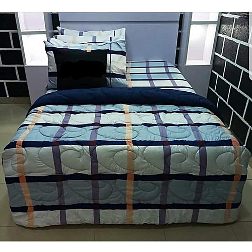 Wishes.Com 1 Duvet + 1 Bedsheet + 4 PillowCovers + 1 Duvet Storage Bag WC118
