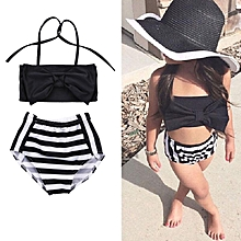 ad58925cd670c Kids Baby Girls Bikini Suit Swimsuit Swimwear Bathing Swimming Clothes  Beachwear