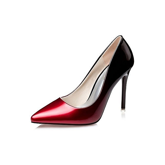 Sexy Red Women Pumps Shoes Heels Thin High 80NnwPXZOk