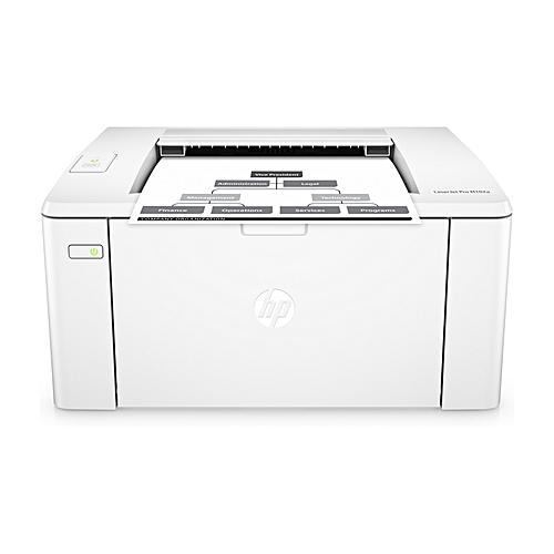 LaserJet Pro M102w Personal Black And White Laser Printer