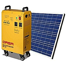 SOLAR OR PHCN POWERED GENERATOR = Solar Panel +Battery+Inverter+Ups height=220