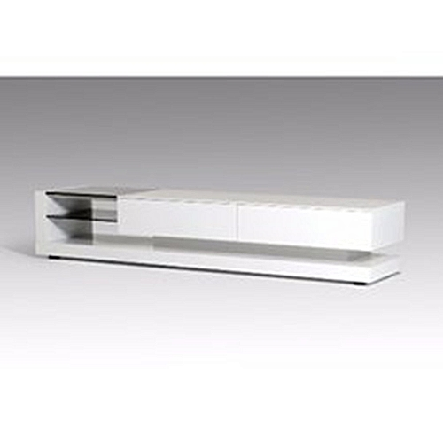Faith Adio 6 Feet Tv Stand -White (Delivery Within Lagos Only)