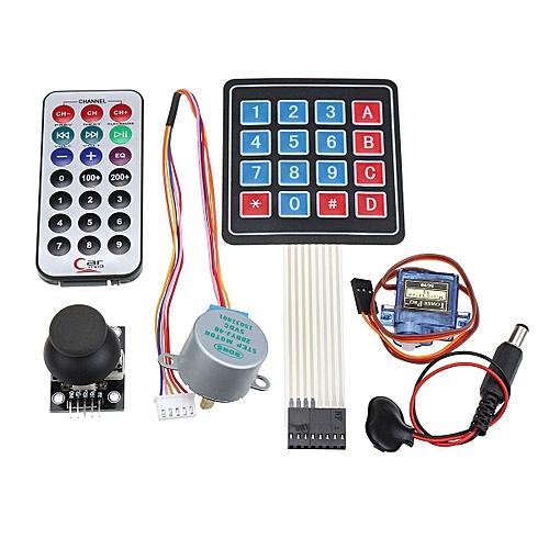 ULTIMATE UNO R3 Starter Kit For Arduino Keypad RTC SPI Bluetooth 1602LCD Servo