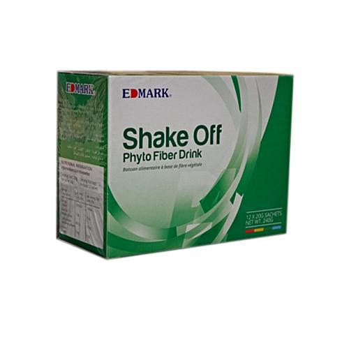 Shake Off Phyto Fiber - Colon Cleansing Health Drink- (12 Sachets) Padan  Flavor