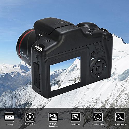 Video Camcorder HD 1080P Handheld Digital Camera 16X Digital Zoom