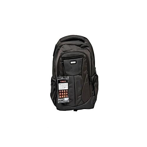 Laptop Backpack- Black