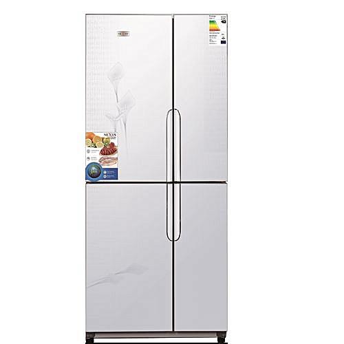 420 Ltr Multi Door Side By Side Refrigerator - Silver Finish