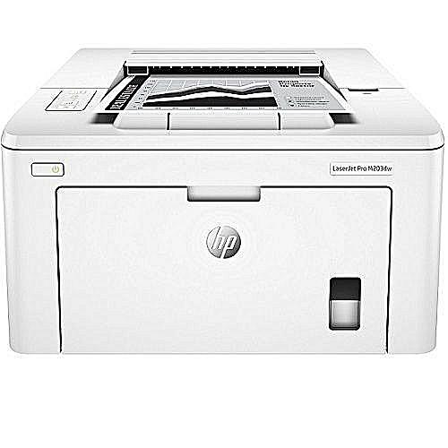 HP LaserJet Pro M203dw White Wireless Printer(G3Q47A)