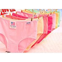 7ce6b6a8a4188 6pcs lot Fashion Ladies Underwear Plus Size Briefs Women Panties