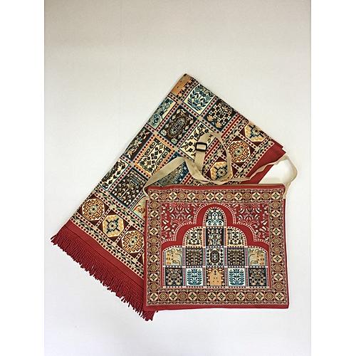 Muslim Prayer Mat With Bag For Travel Bag Prayer Mat ,Islam Prayer Rug With Bag Sets HGP-017 3D Print