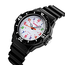 7548fb799 Boys Girls Wrist Watches,Analogue Quartz Sports Wristwatches With Rotatable  Compass,50M Waterproof Silicone