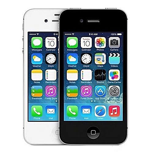 IPhone 4s 16GB - Black Silver(AT&T) A1387 (CDMA + GSM) Smrtphones (Refurbished)