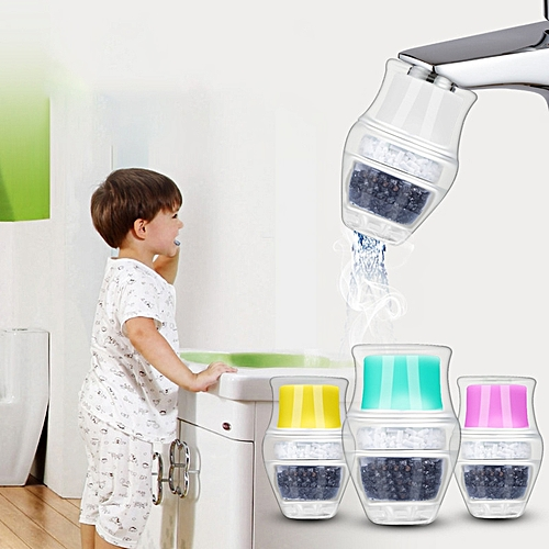 Faucet Water Filter Activated Carbon Home Kitchen Faucet Tap Water Clean Purifier Filter Cartridge