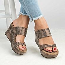 b455501df164 Women High Heels Sandals Female Wedges Pumps Shoes