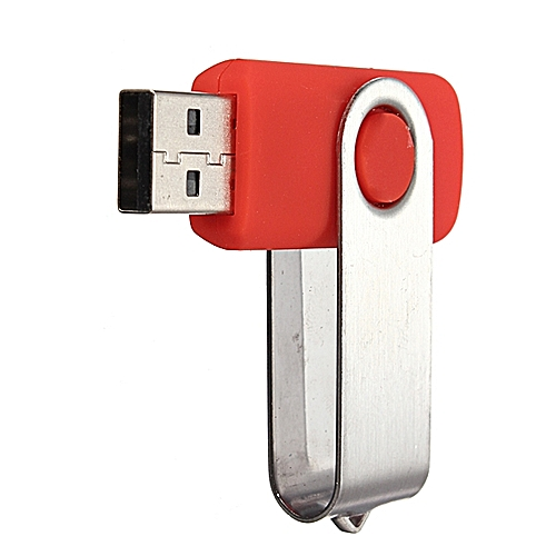 64G USB2.0 Swivel Flash Drive Memory Stick Storage Thumb Pen Disk Wholesale Red