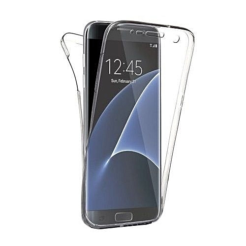 new style fa207 87476 Samsung S7 Edge Case 360 TPU Case Front And Back Phone Case Cover