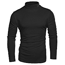 30fa3ade11d466 Men  039 s Slim-Fit Turtleneck Cooperate Sweater With Singlet - Black PLUS