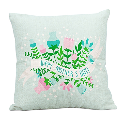 Fashion Home Decor Cushion Cover Happy Mother's Day Throw Pillowcase Pillow Covers