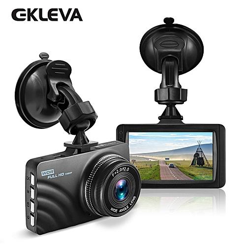 "Car Dashboard Camera 1080P HD Dash Cam Recorder 4-Lane Wide Angle View, 3"" Vehicle Camera With G-Sensor, Loop Recording, Motion Detection, Parking Monitor"