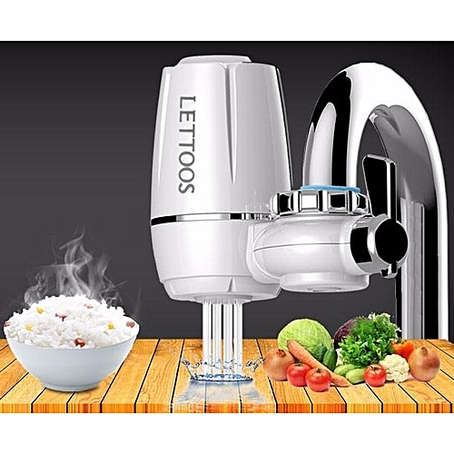 Kitchen Faucet Water Filter System Household Water Purifier Washable Ceramic Filter