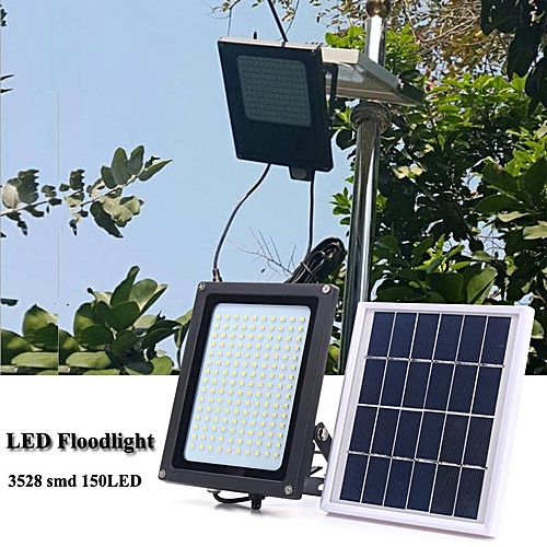 150 LED Solar Power Flood Light Sensor Motion Activated Outdoor Garden Lamp